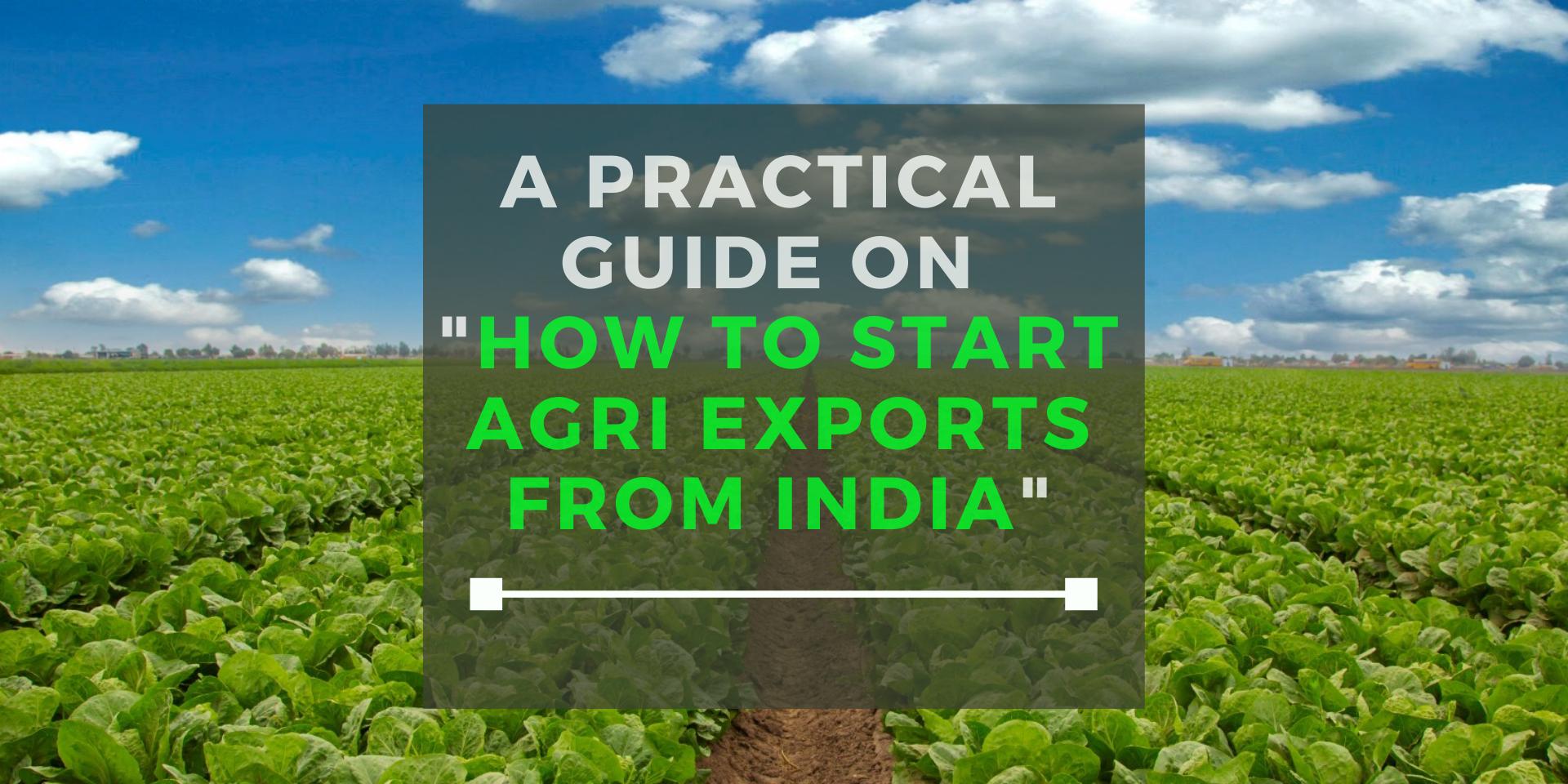 Start-Agri-Exports-India